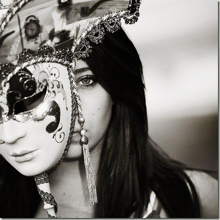 Woman-removing-mask